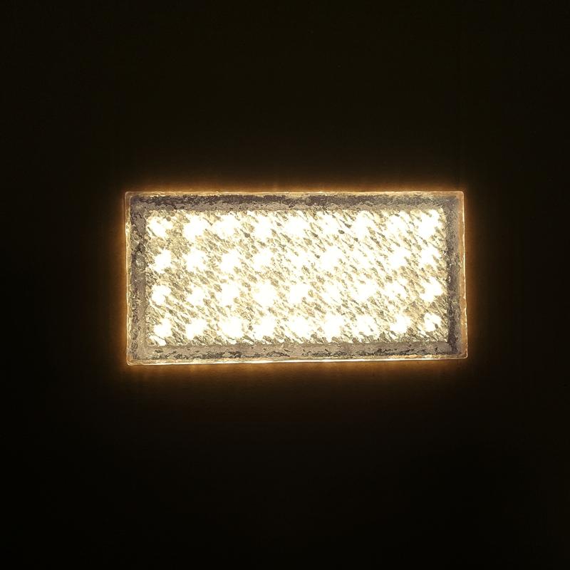 """LED Pflasterstein /""""BRIKX 20/"""" warmweiß"""