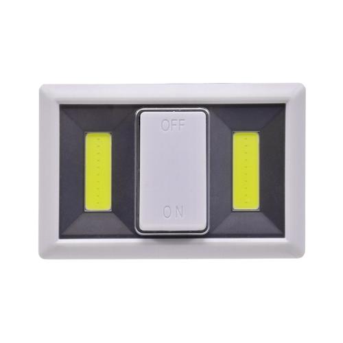 Batterie Klebe Led Leuchte mit leicht erreichbarem großem Schalter perfekt für alte Leuchte Rentner und Senioren