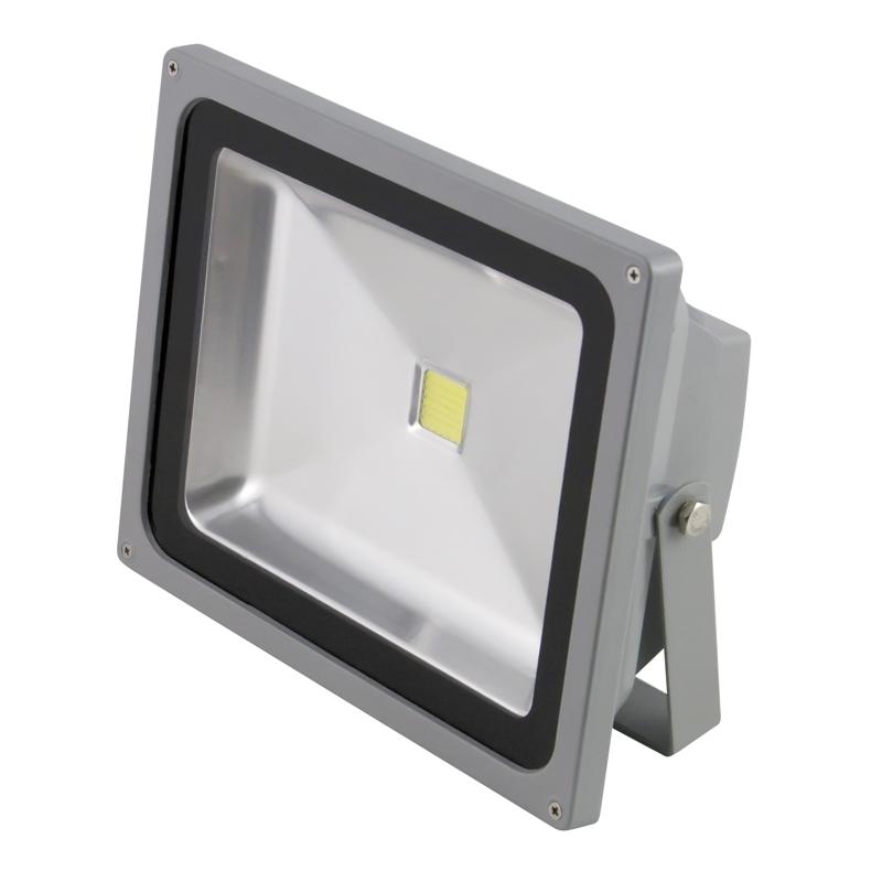 Favorit Heitronic 50W LED Fluter IP65 230V 3500lm Fluchtlicht-Strahler BG53
