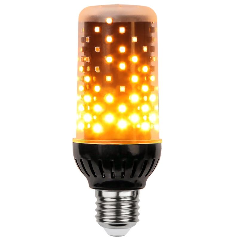 led fire flame lamp e27 klar 230v 6w feuer lampe flammen effekt flackernd flamme fackel. Black Bedroom Furniture Sets. Home Design Ideas