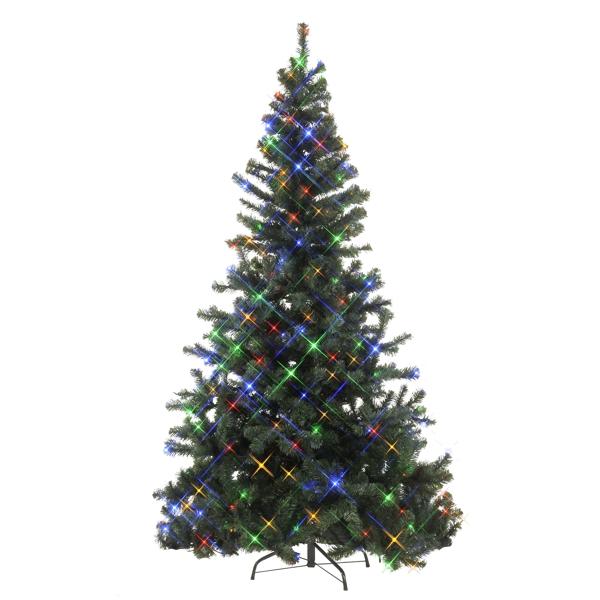 Künstlicher Weihnachtsbaum Für Aussenbereich.Led Weihnachtsbaum 180cm 180 Bunten Leds Für Innen Und Außen Künstlicher Christbaum